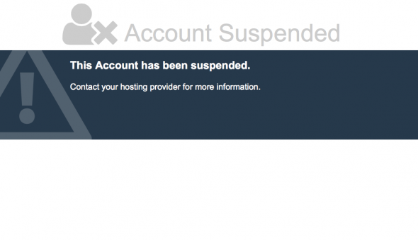 CashNHits - Account Suspended