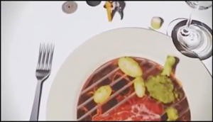 ClixSense - Tiny Chef grills steak right on your plate.